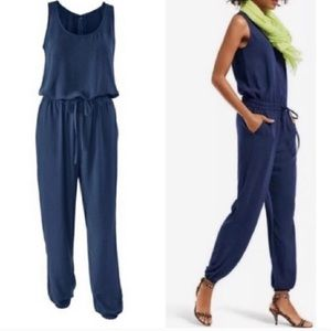 CAbi French Navy Jumpsuit  (M)